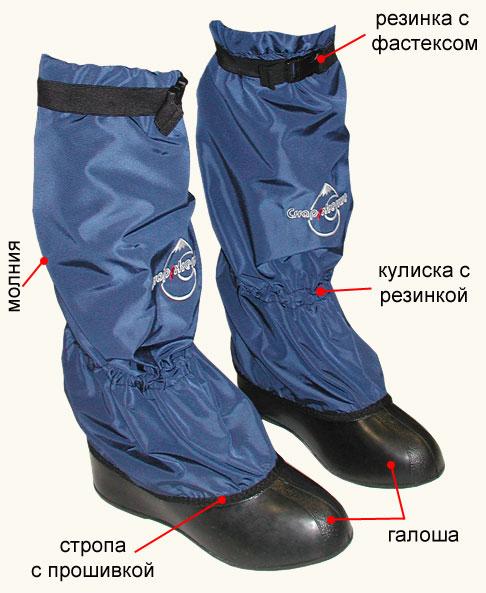 чехлы на обувь для рыбалки