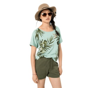 Футболка TROPICAL LEAF T W.