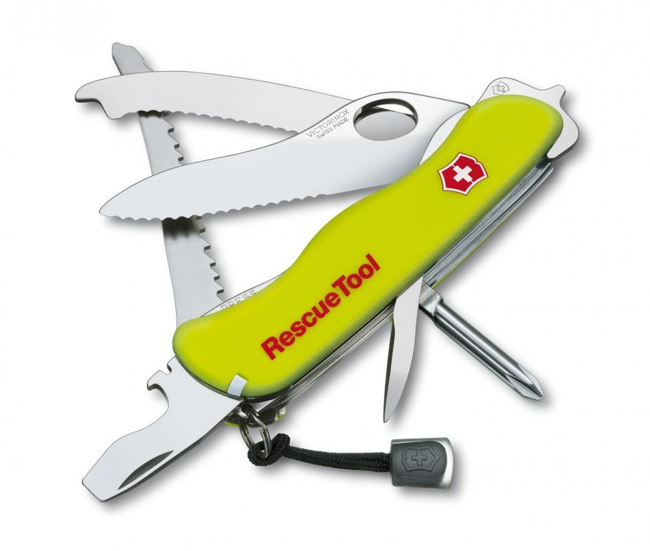 0.8623.mwn нож спасателя victorinox rescue tool сталь 1095 используемую на ножах ka-bar